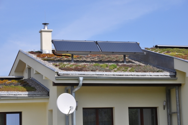 OBR - zelena strecha