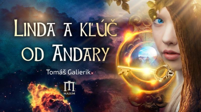 Linda a kľúč od Andary, grafika 1